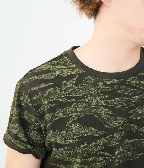 Tiger Camo Graphic Tee