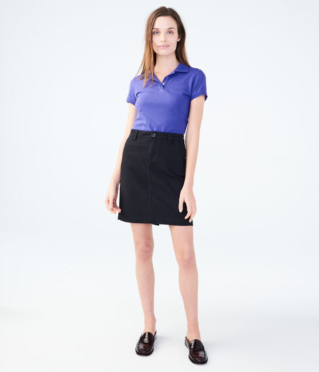 "Solid Pocketed 19"" Uniform Skirt***"