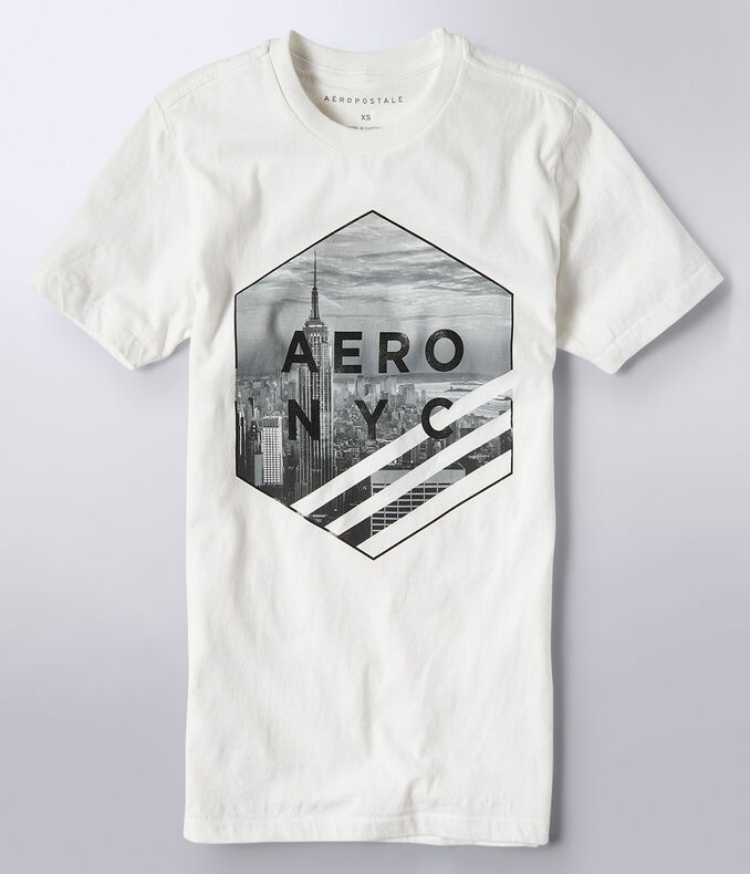 Aero NYC Hexagon Graphic Tee***