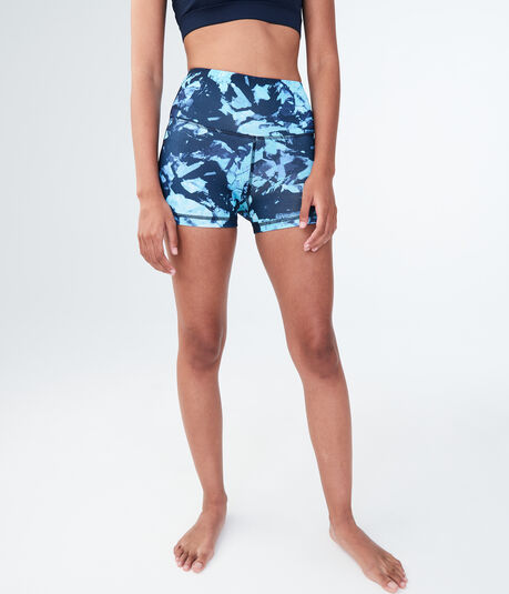 LLD Abstract Floral Volleyball Shorts