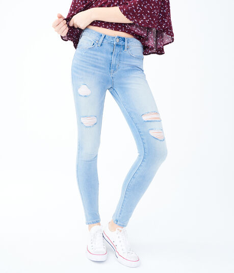 High-Waisted Seriously Insane Stretch Ankle Jegging