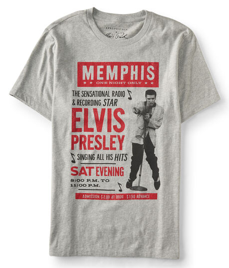 Elvis Memphis Poster Graphic T