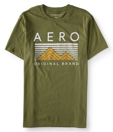Aero Mountains Logo Graphic Tee