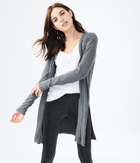 Seriously Soft Ribbed Cardigan