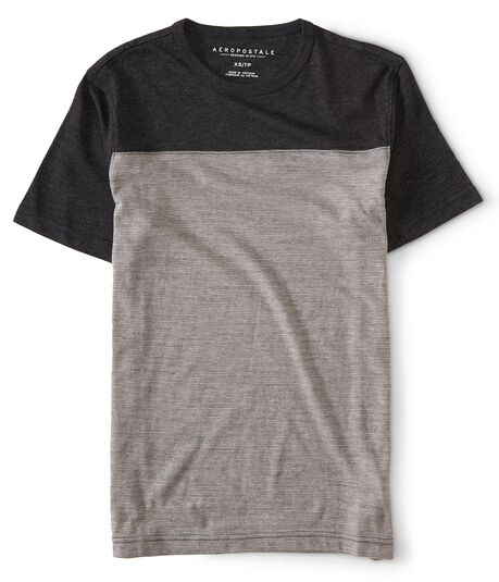 Thin Stripe Colorblock Tee