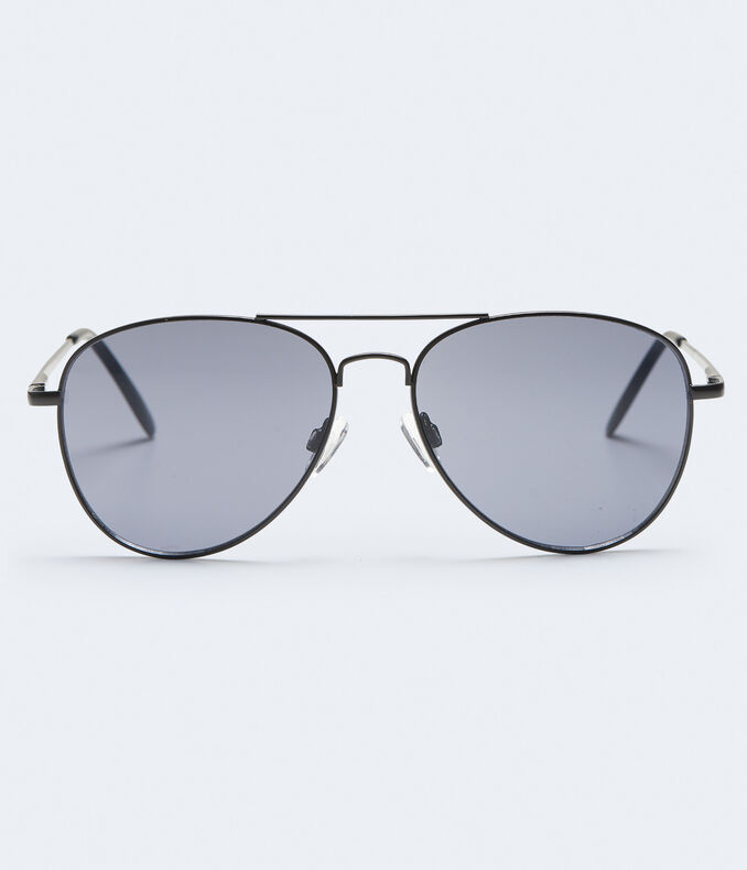 Tonal Aviator Sunglasses