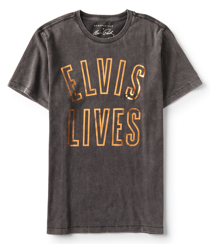 Guys' Elvis Lives Graphic Tee
