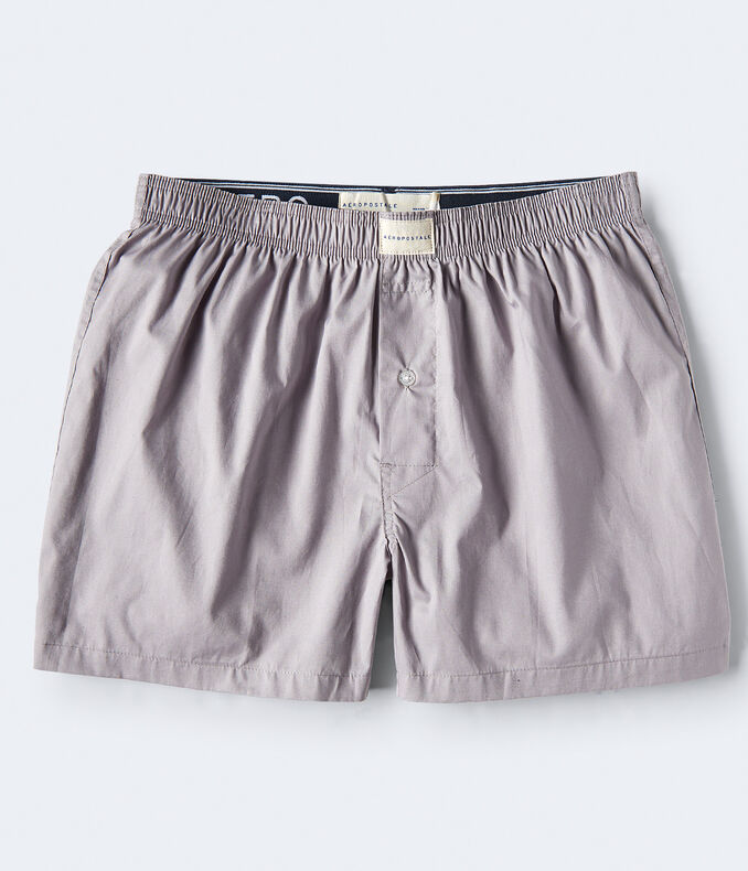 Solid Woven Boxers