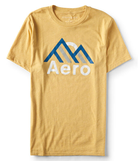 Aero Mountains Graphic Tee***