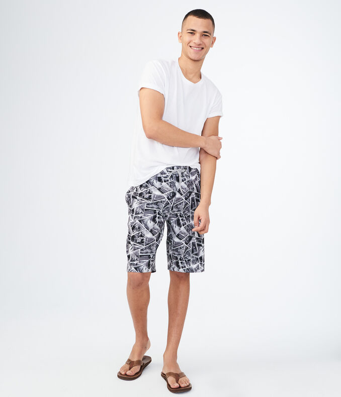 Island Scenes Stretch Boardshorts by Aeropostale
