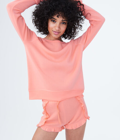 LLD Fleece Strappy-Back Sweatshirt