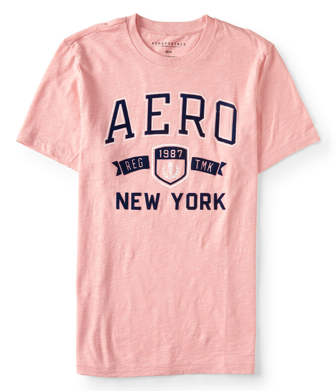 Aero New York Trademark Logo Graphic Tee***