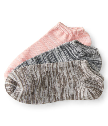 3-Pack Space-Dyed Ankle Socks