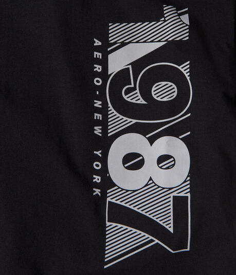 Vertical 1987 Stretch Graphic Tee