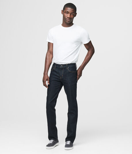 Slim Straight Dark Wash Reflex Jean