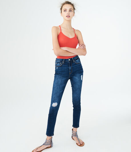 Seriously Stretchy Super High-Waisted Jegging
