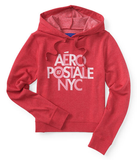 Stacked Aéropostale NYC Pullover Hoodie