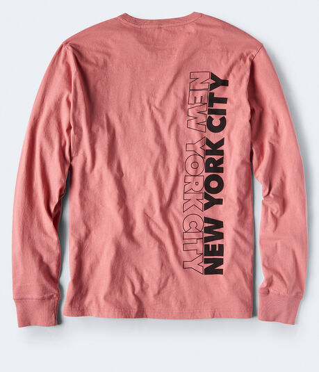 Long Sleeve NYC Graphic Tee