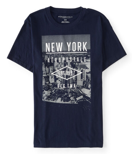 New York Aeropostale Graphic Tee***