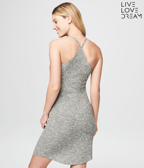 LLD Racerback Ribbed Tank Sleep Dress