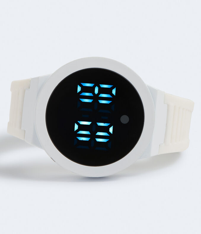 Rubber LED Digital Watch
