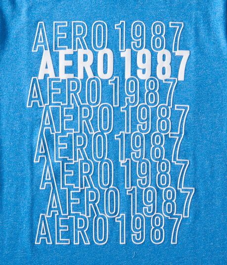 Flocked Aero 1987 Graphic Tee