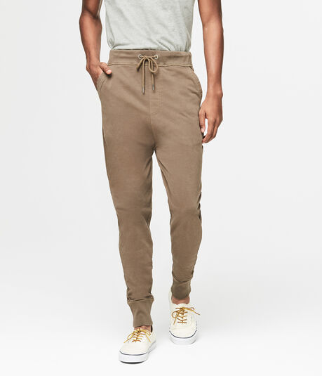 Solid Jersey Joggers
