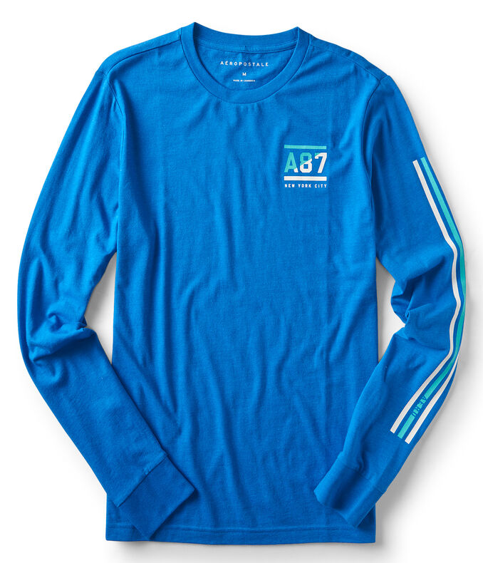 Long Sleeve A87 New York City Graphic Tee
