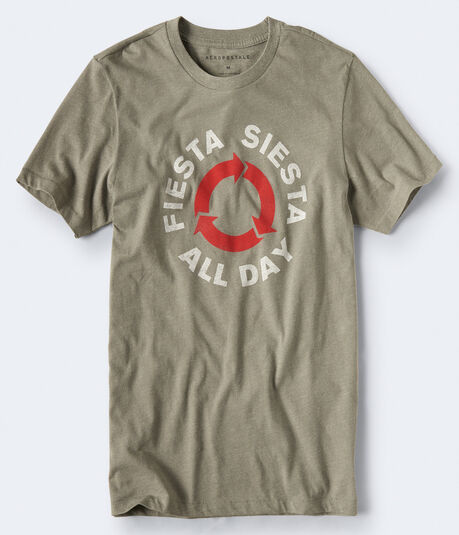 Fiesta Siesta Repeat Graphic Tee