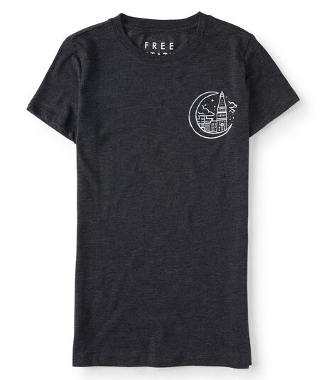 Free State City Moon Graphic Tee