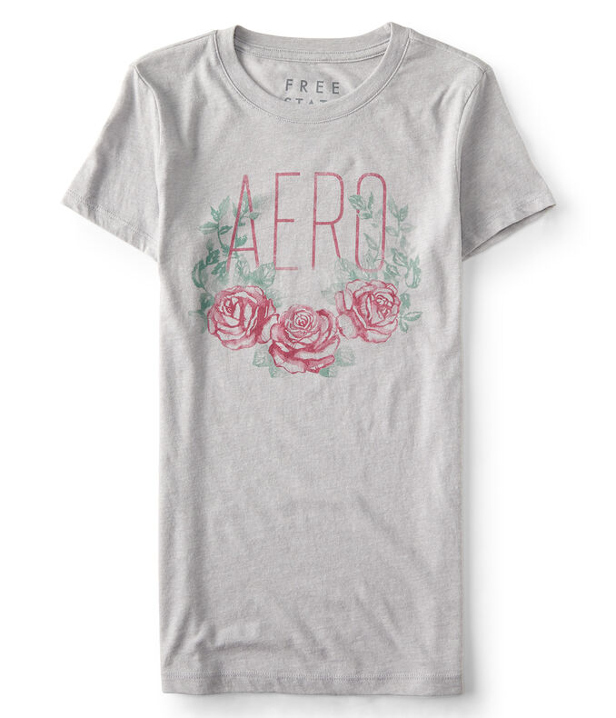 Final Sale -Free State Aero Rose Graphic Tee