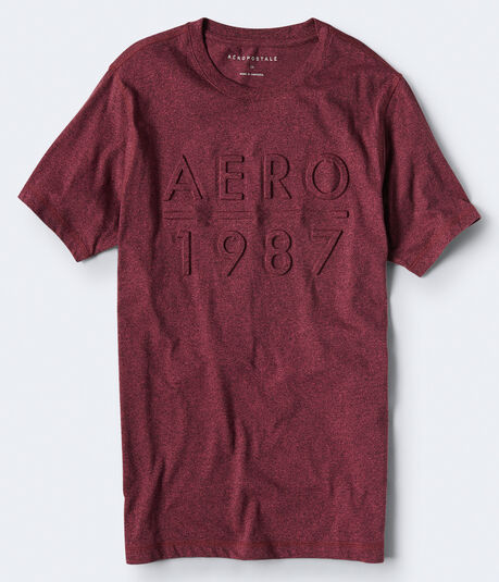 Embossed Aero 1987 Graphic Tee