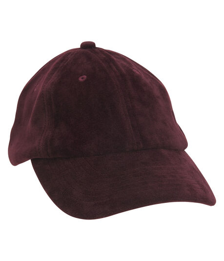 Velvet Adjustable Hat