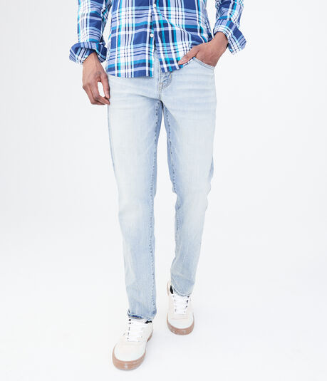 Final Sale - Slim Taper Light Wash Reflex Jean