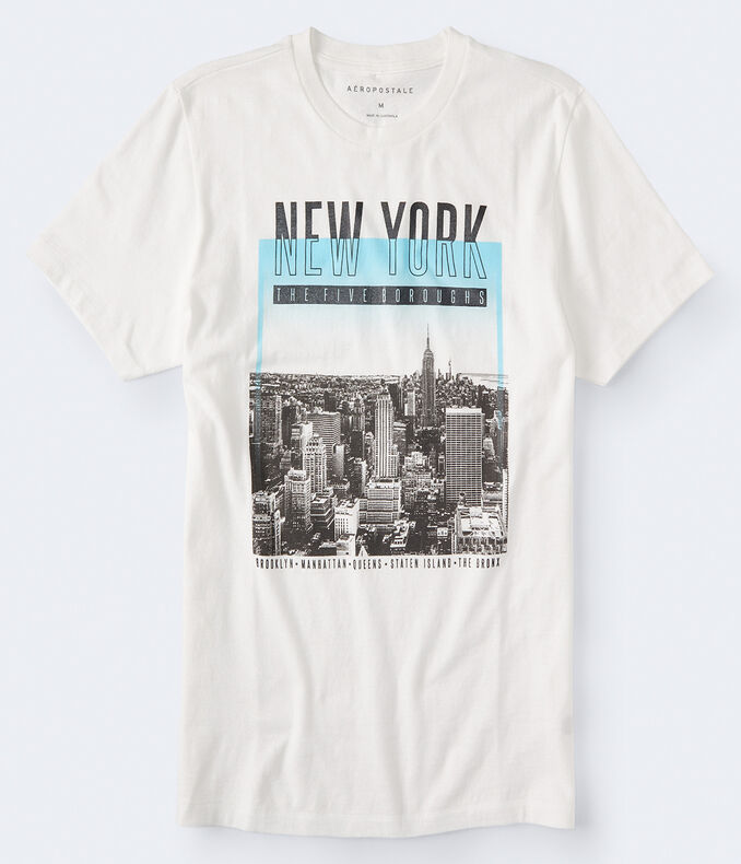 Five Boroughs Graphic Tee by Aeropostale