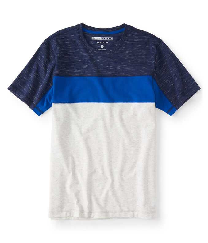 Active Colorblock Stretch Tee