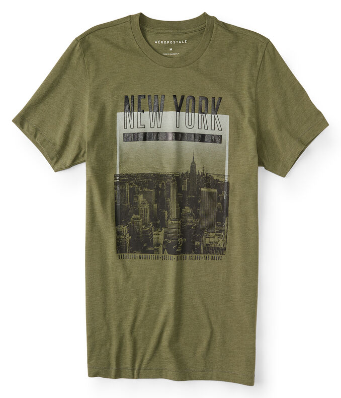 New York Five Boroughs Graphic Tee