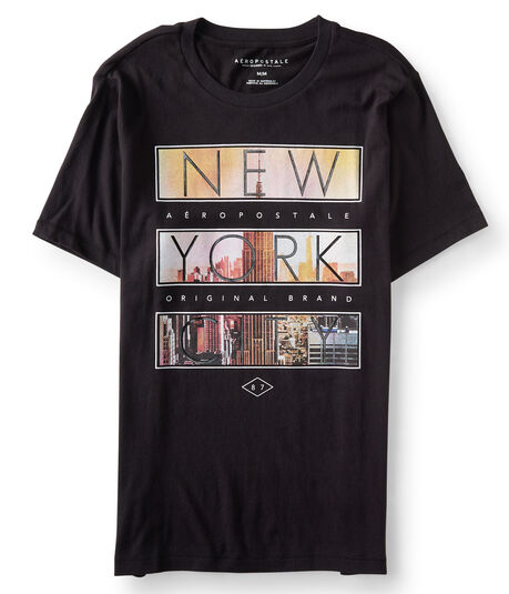 New York City Block Imagery Graphic Tee