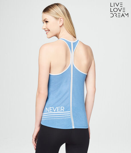 LLD Now Or Never Racerback
