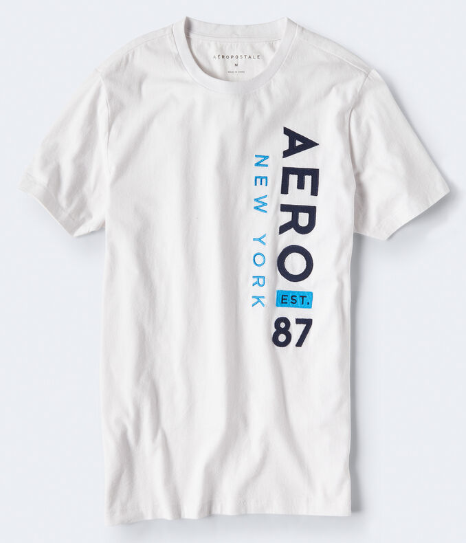 Aero New York Vertical Graphic Tee