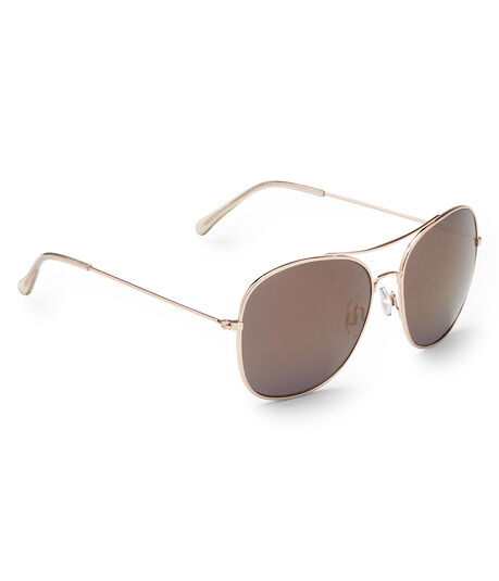 Square Top-Bar Sunglasses