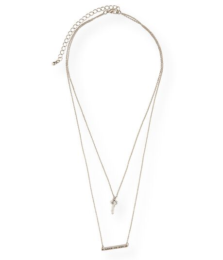 Love Is Key Short-Strand Necklace