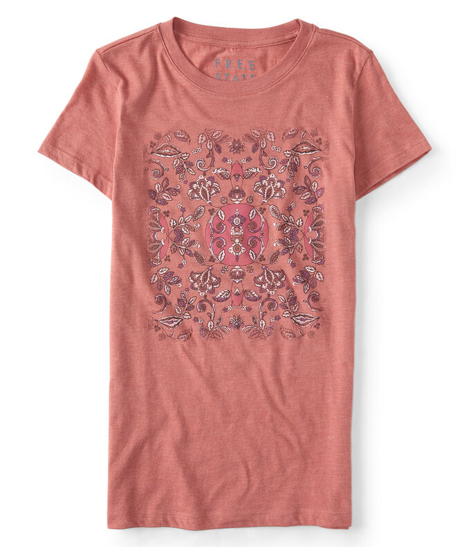 Free State Floral Mosaic Graphic Tee