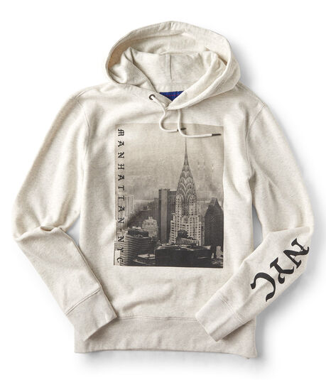 Manhattan NYC Pullover Hoodie