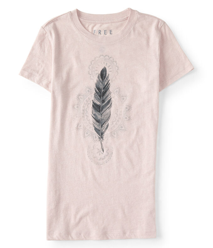 Free State Single Feather Graphic Tee