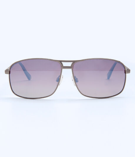 Polarized Hematite Navigator Sunglasses