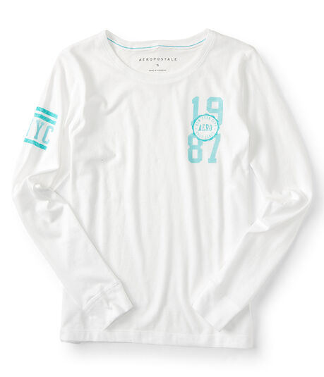 Long Sleeve 1987 Graphic Tee***
