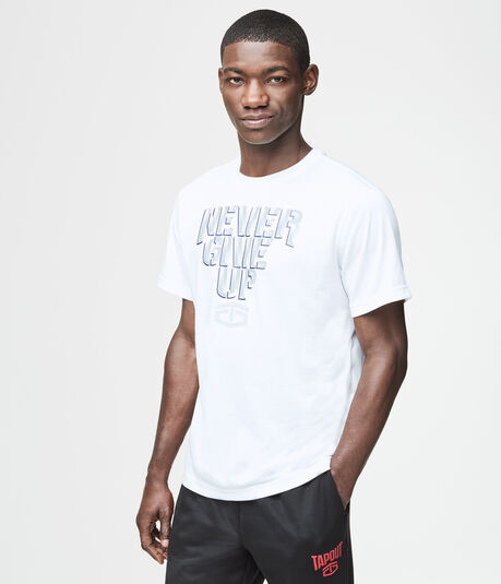 Tapout Never Give Up Graphic T