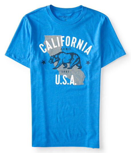 California Bear Graphic Tee***