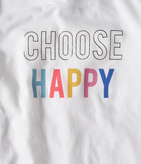 Free State Choose Happy Graphic Tee
